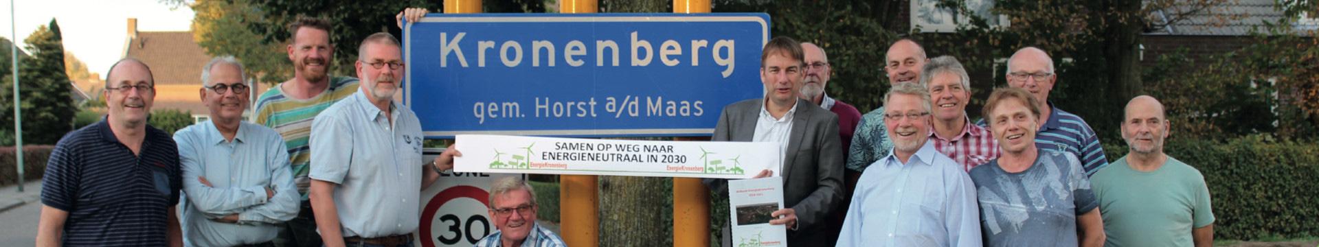 Bewoners aan zet in Kronenberg